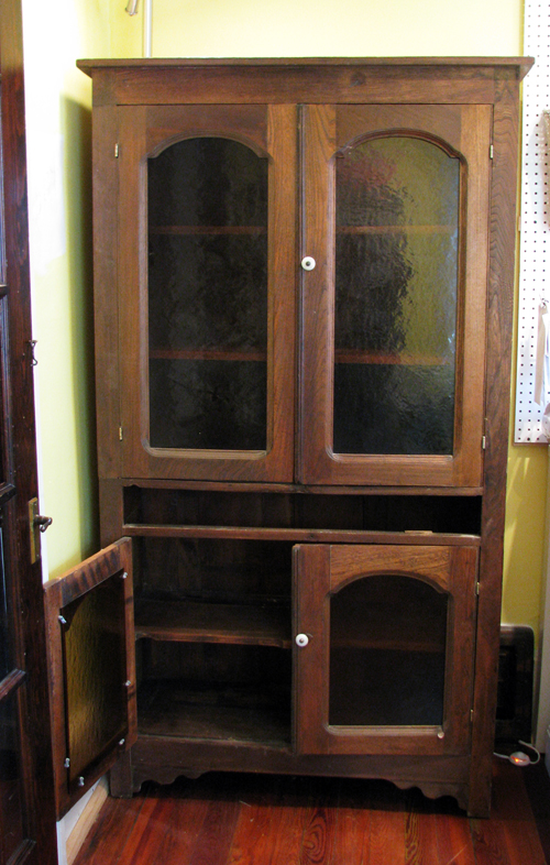 Old cabinet before resized