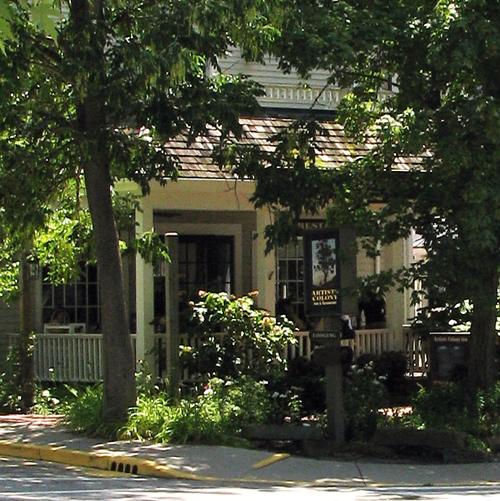 Nashville Artist's Colony porch close2