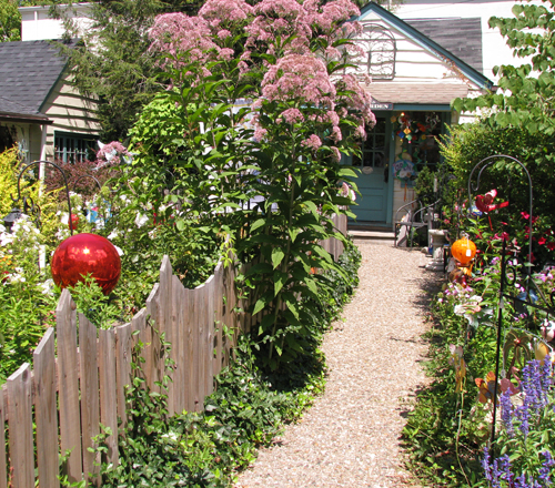 Nashville garden path2