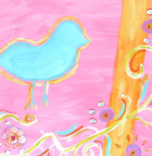 Close bird