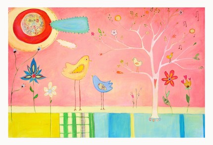 Birdie garden by cathynichols