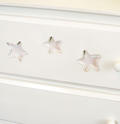 Baby girl chest stars